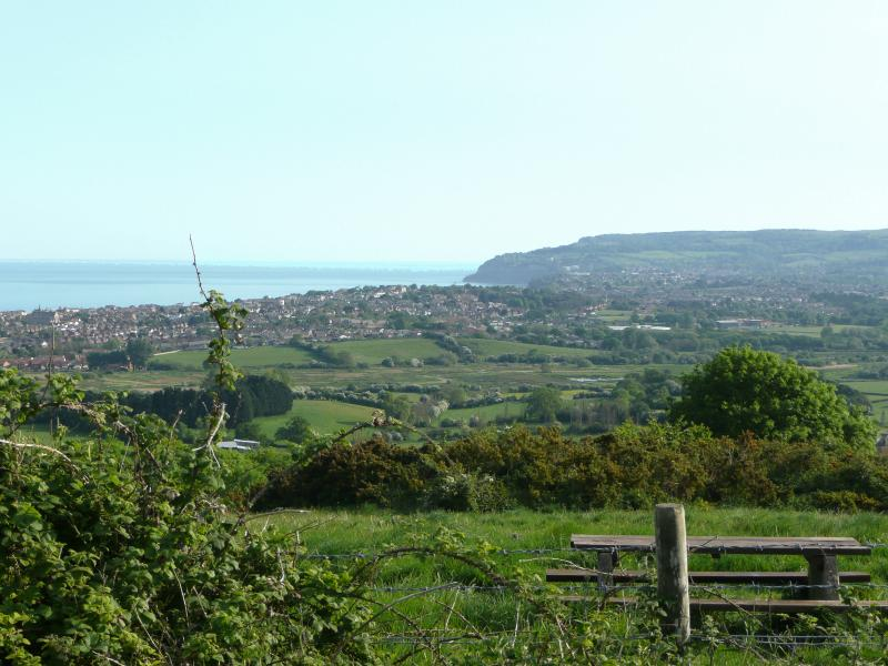 View of the Bay from the Downs