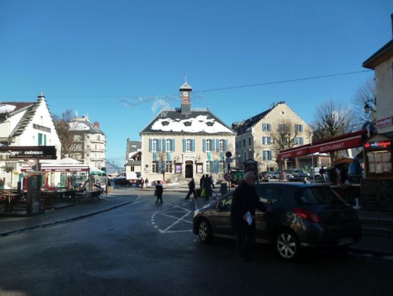 Villard de Lans village square - just a minute's stroll away