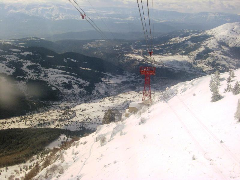 In the morning, you can admire spectacular views on a cable car ride up to Apennine ski slopes...