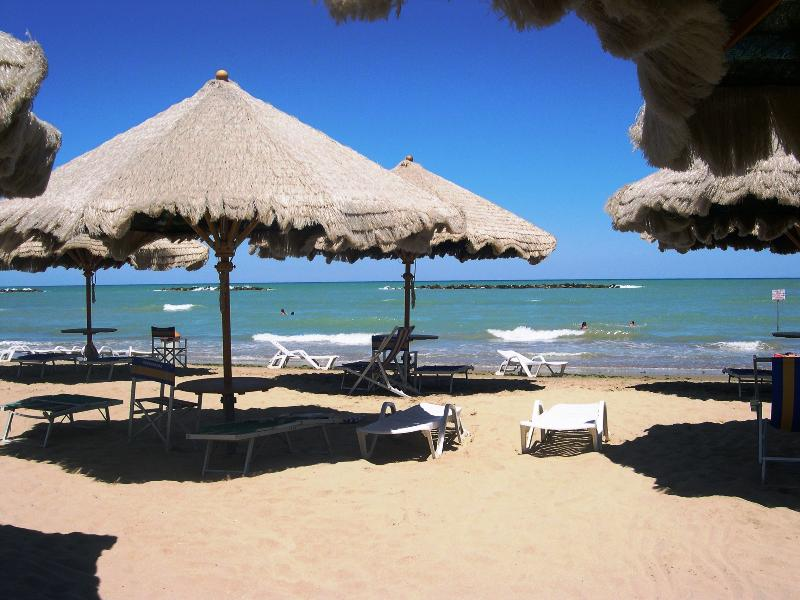 ...and then, in the afternoon you can relax on sandy beaches or swim in the turquoise Adriatic