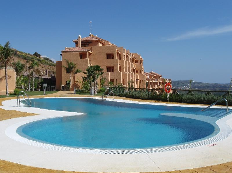 View over stunning shared pool