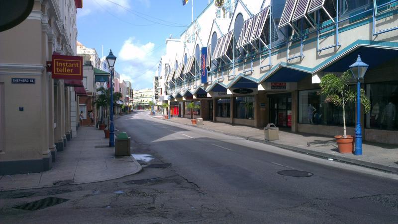 Bridgetown on New Year's Day