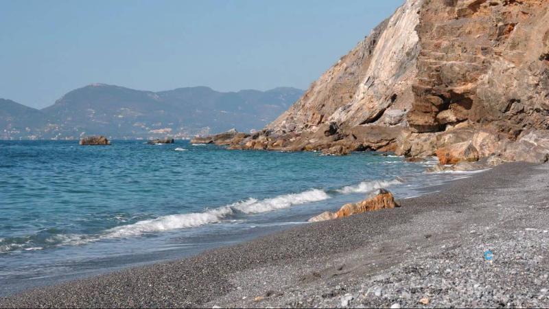 Punta Corvo beach Ligurian Coast