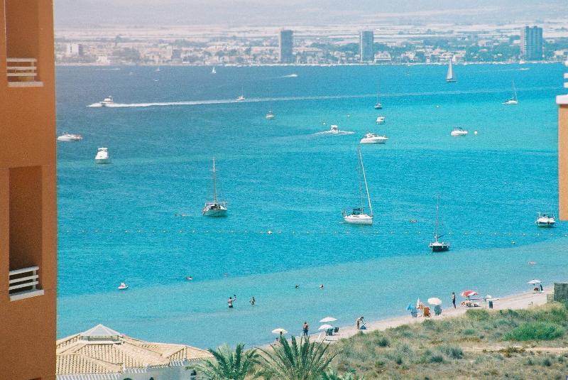 Vue magnifique sur le Mar Menor de balcon