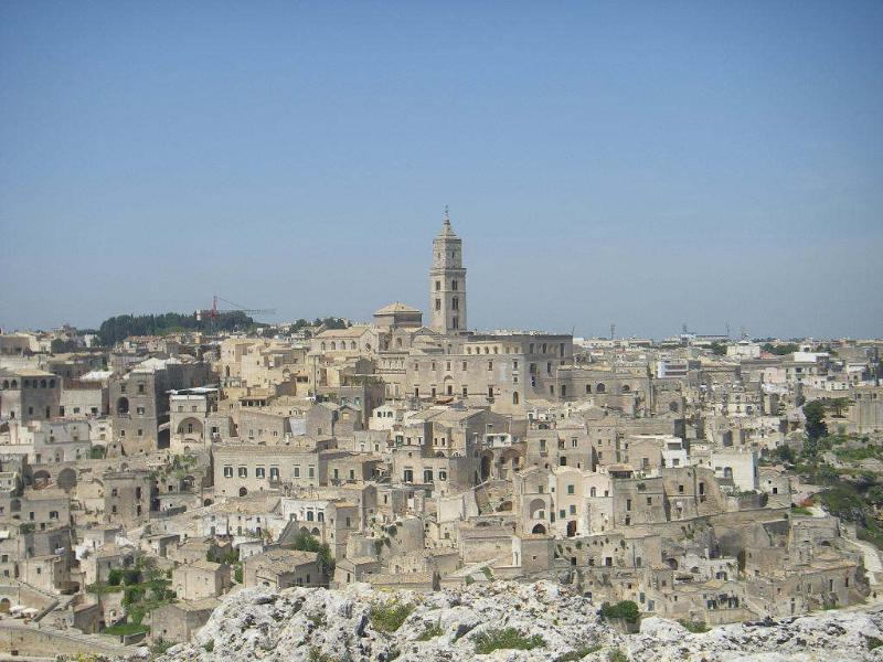 Panorama di Matera - Sasso Caveoso