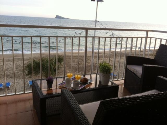 Gran terraza al Mediterráneo