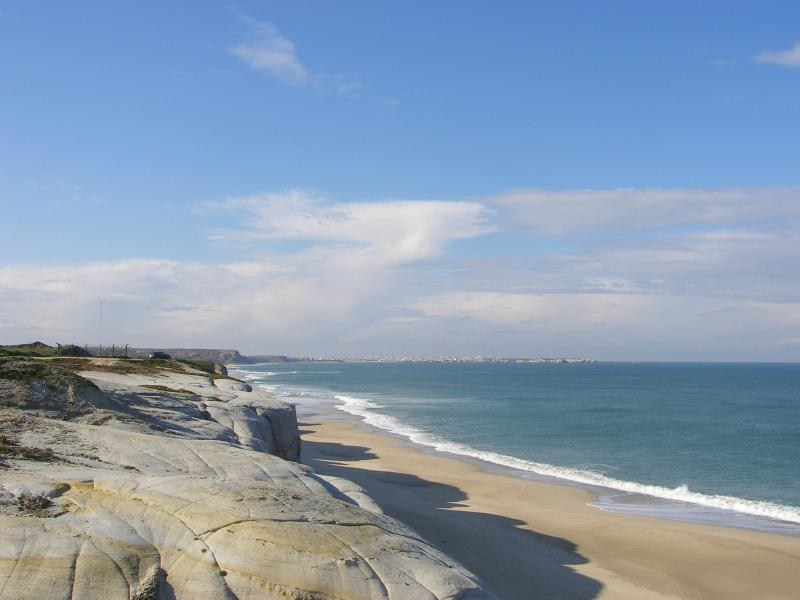 One of the many beaches at Praia Del Rey.