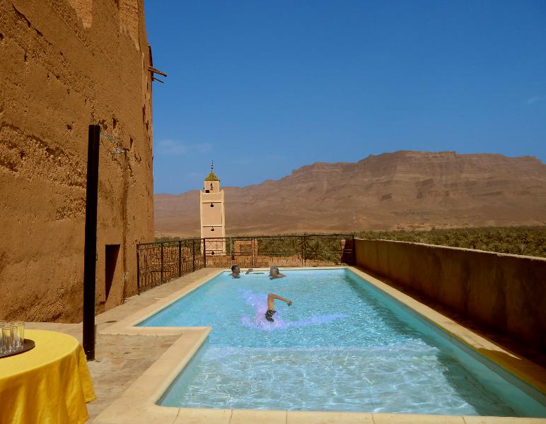 la piscine intra-muros de la kasbah