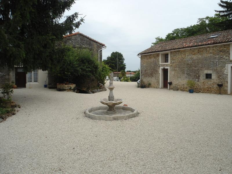 Fountain and Courtyard