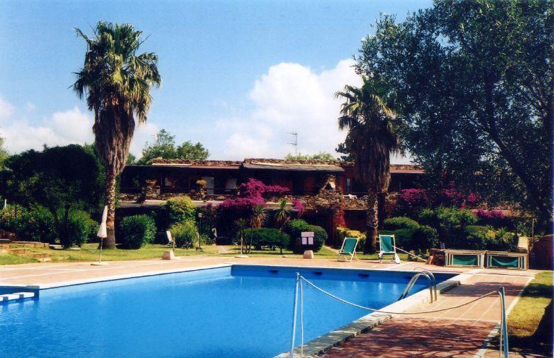 Vista appartamento dalla piscina