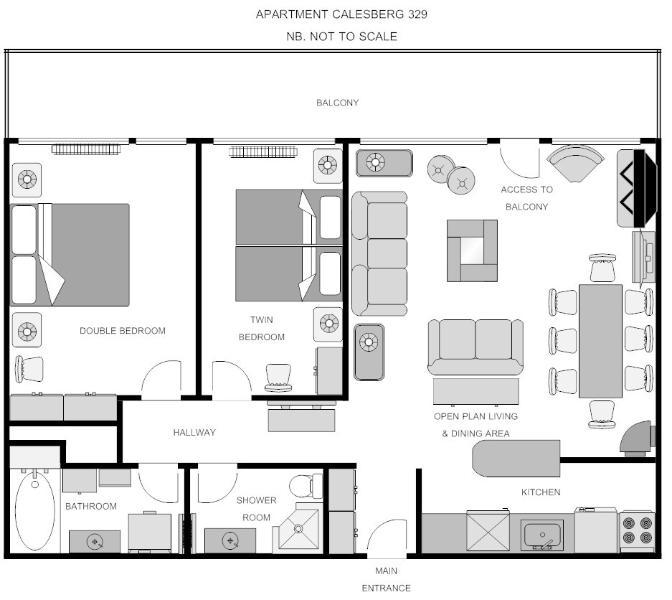 Calesberg 329 floor plan