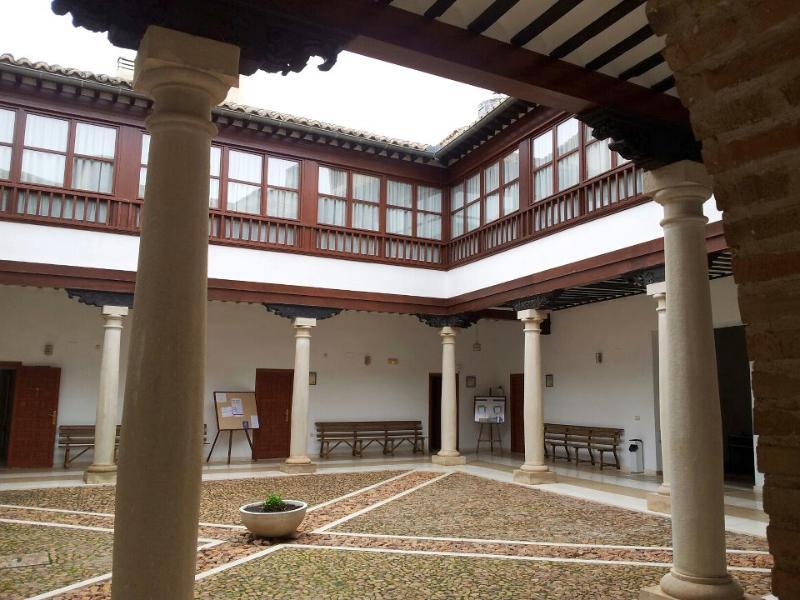 Patio en Almagro - excursión recomendada / visit Almagro / besuchen Sie Almagro