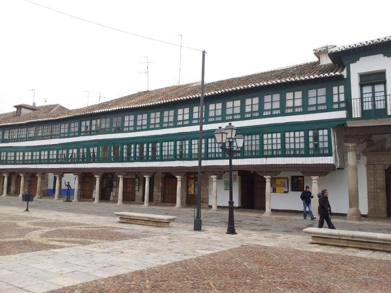 Plaza Mayor Almagro - excursión recomendada / visit Almagro / besuchen Sie Almagro