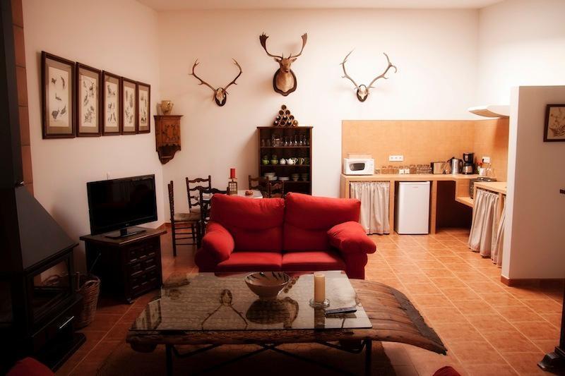 Apartamento Cazador, salón con zona de comedor - livingroom - Wohn- und Esszimmer