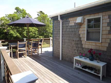 North Side of Deck
