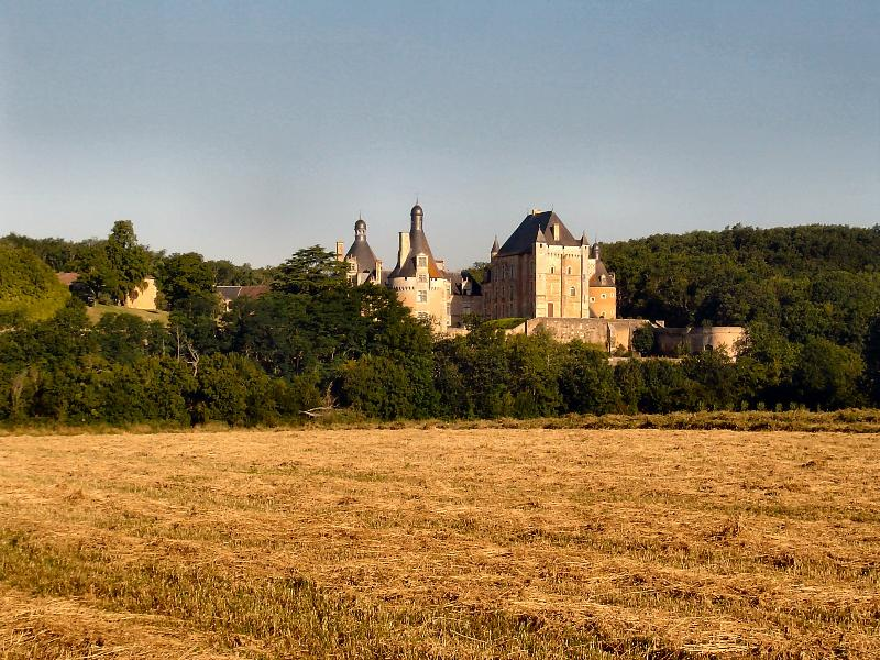 Chateau Touffou is within walking distance