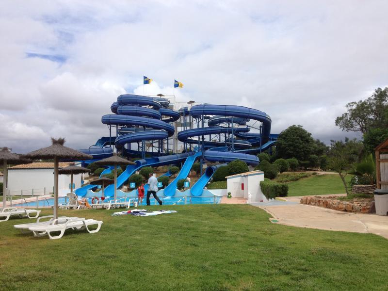 Flumes at Slide n Splash