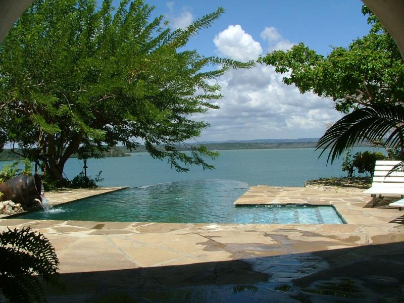 View to pool - easy access to beach and local town