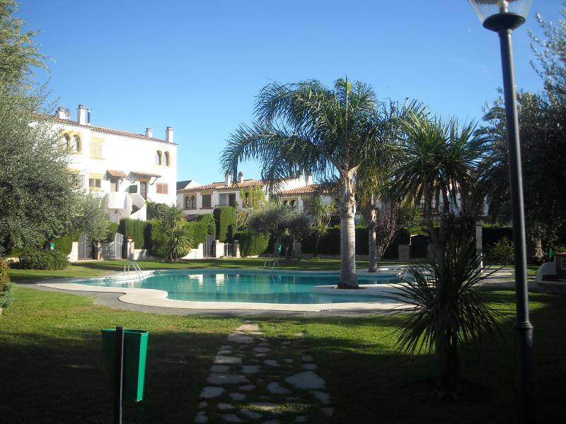 Communal Pool area from Rear Gate
