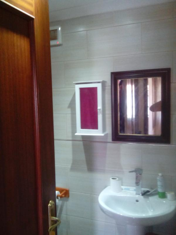 Second upstairs toilet with shower