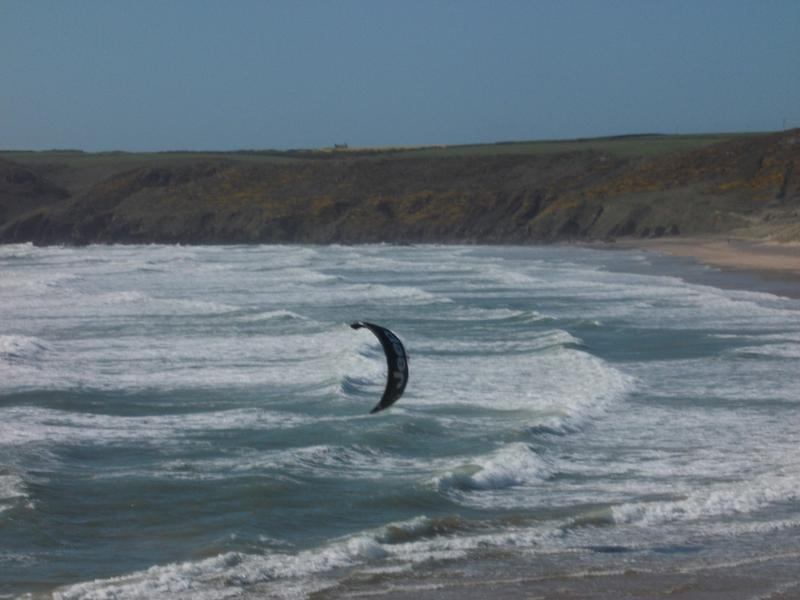 Wind Surfing at Freshwater West
