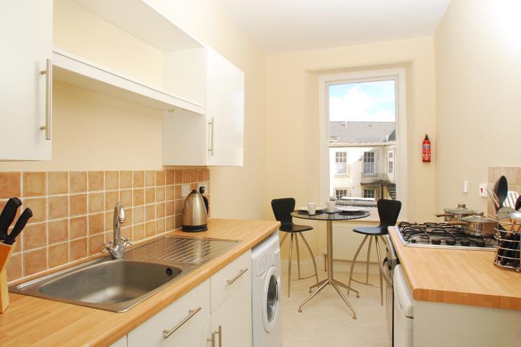 First floor one bedroom apartment kitchen