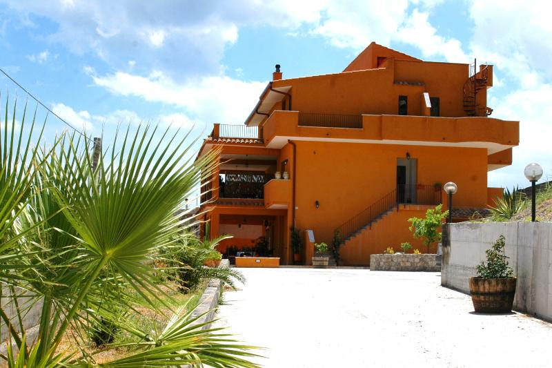 View of the Lemon Tree Villa from the drive