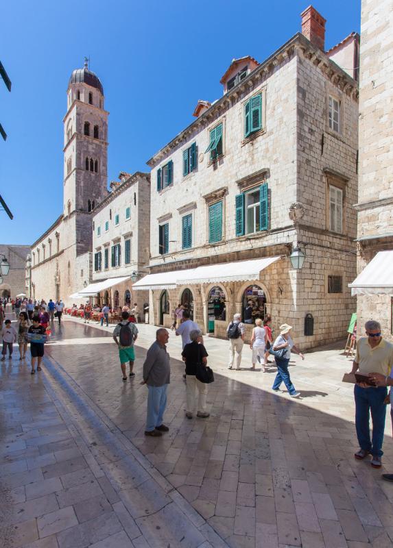 House on Stradun Dubrovnik
