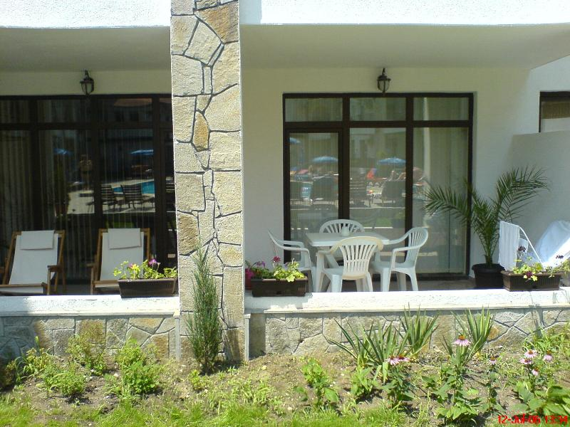 La terrasse au soleil
