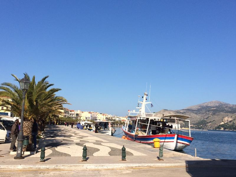 The fishing boats, just a few meters from our apartment!