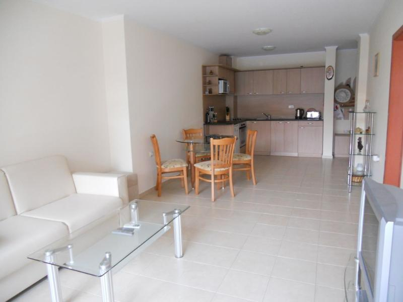 Light and spacious modern living area