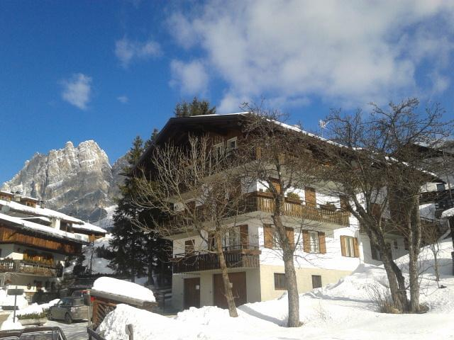 Apartment in Cortina for a peaceful and affordable vacation