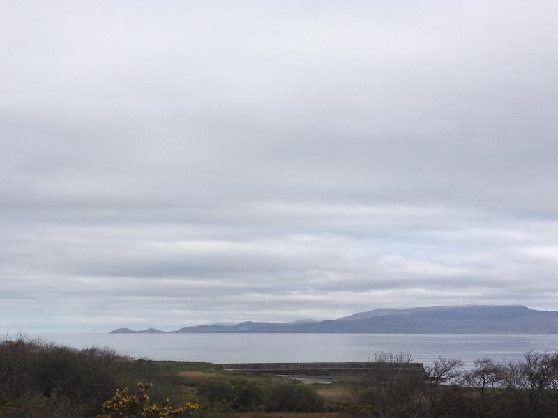 The view of Clew Bay from the front door.