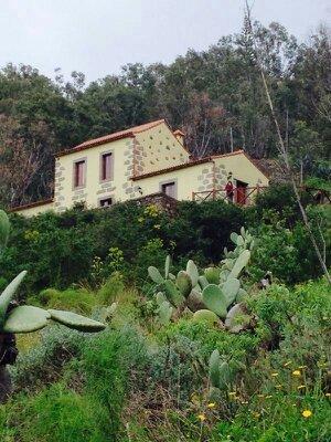 Vista exterior de la casa Rural Las Caldereras