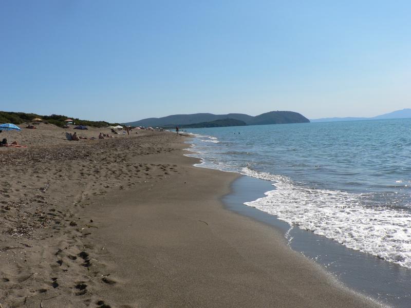 il mare del Parco naturale di Rimigliano