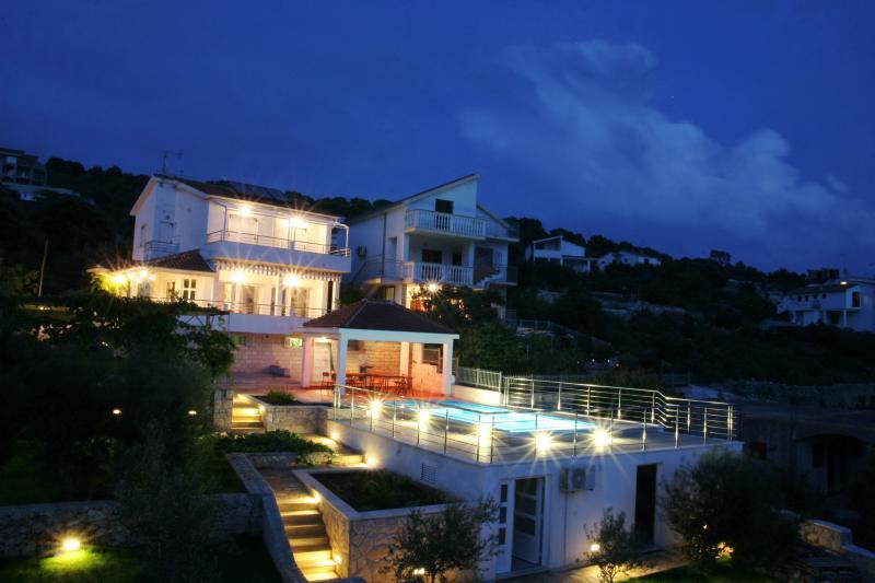 Villa Sucic by night