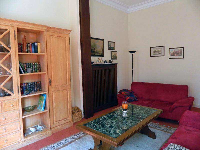 Tittar in i vardagsrummet - panoramautsikt in i vardagsrummet