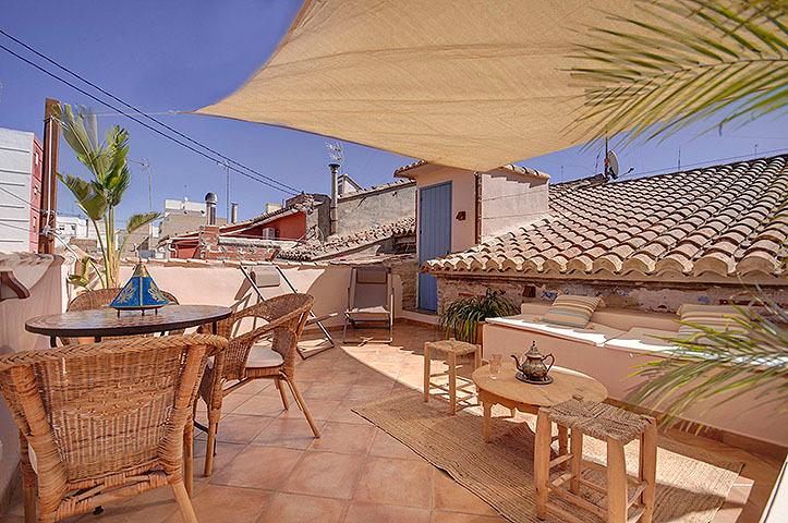 Casa 1001 Noches- BEACH-LUXURY-SUN-TERRACE-WIFI – semesterbostad i Valencia