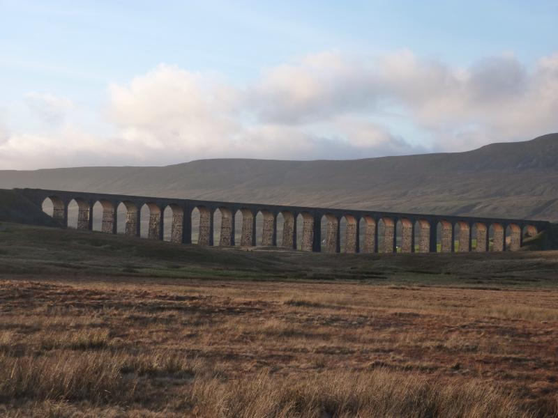 The famous Ribblehead Viaduct, just 5 miles away