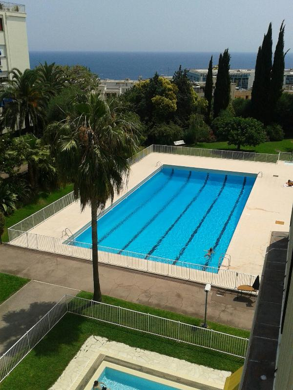 pools and sea views from our last floor terrace