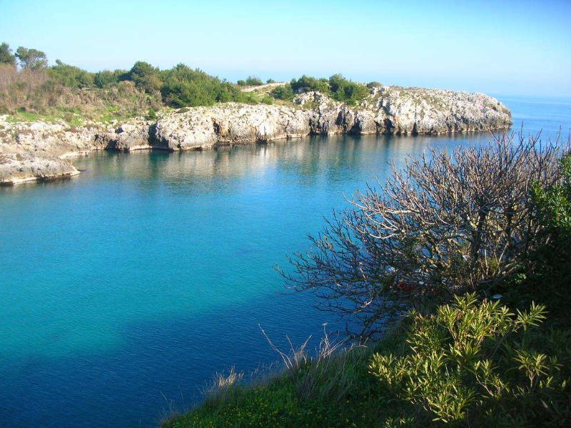 Porto Badisco, 25 kms far from Villa Lina