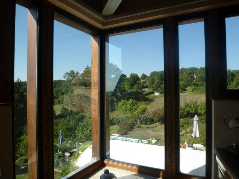 vue du salon de la Rose de vents - view from the lounge