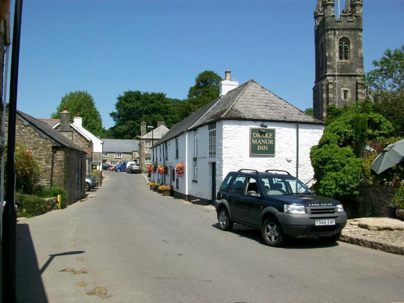 Buckland Monachorum village