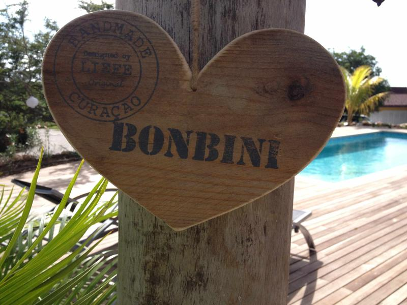 Bonbini means welcome!