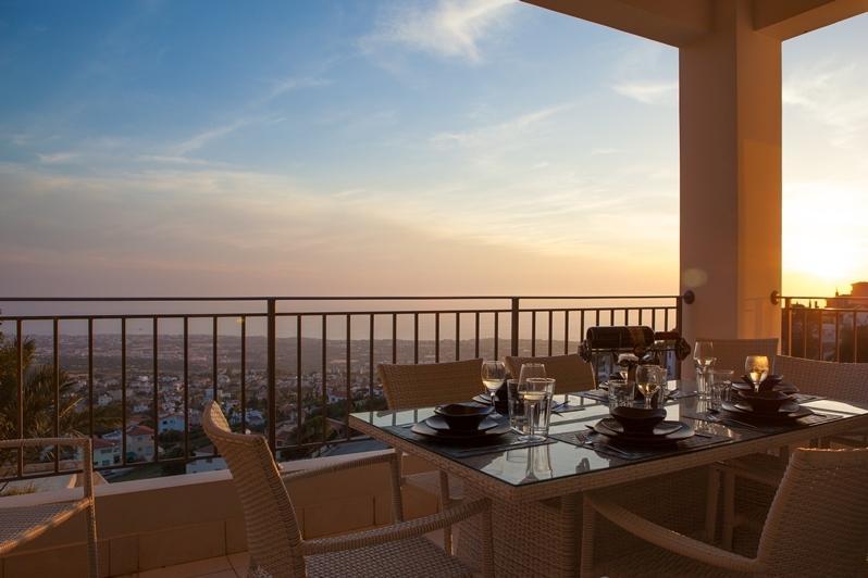 Dine Alfresco on the Balcony