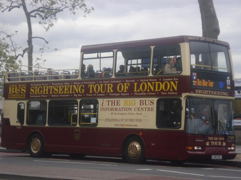 Un recorrido en autobús Londres