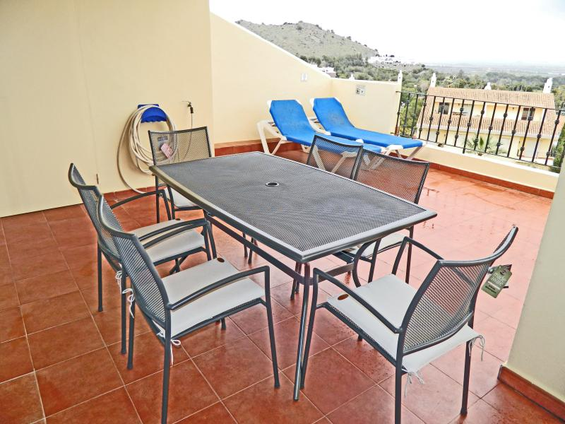 Sun Terrace with Patio Table and Chairs