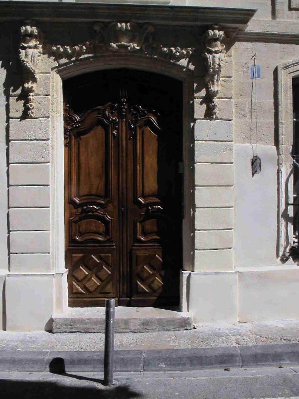 la grand porte d origine tres lourde