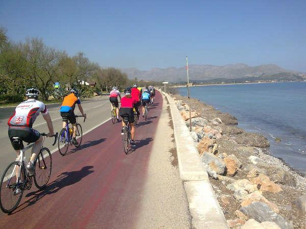Alcudia, a great place for clycling along the coast/mountain