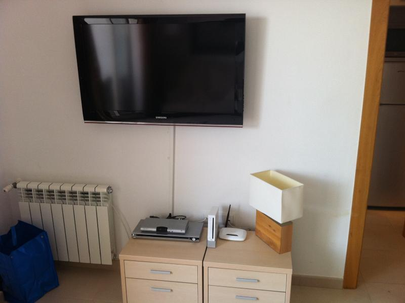 40' LCD TV / DVD PLayer / Wii / Free Wifi Access